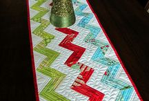 Mini quilts, pot holders, table runners, etc
