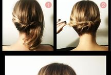 Hairstyles / by Ashley-Renee' Tyler