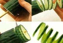 карвинг овощей