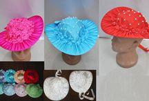 Шляпки, вуалетки для девичника, для детей, для праздников, хелоуин