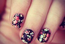 Unhas/ Floral- Nails/ Flowers