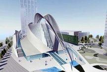 Santiago Calatrava / Board about design, interior design, best interior designers in the world, architecture, design projects and interior design projects of best interior designers and architects