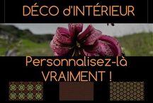 FRAGMENT by Mariane Léger / Bienvenue sur la page FRAGMENT by Mariane Léger destinée à faire découvrir ma démarche créative pour la personnalisation de la décoration d'intérieur.