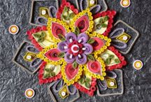 Quilling mandale