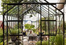 Växthus/trädgård