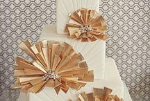 Deco Wedding / Great Gatsby inspired wedding decor and fashion / by Whitney Press