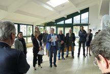 Inauguration d'un PASA / Inauguration d'un PASA pour le CH DE CREST avec le député maire  de CREST  Mr Mariton et le président de conseil général de la Drome Mr Labeaune, ce projet a était conduit avec COCO ARCHITECT