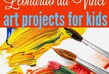 Kreativ: Kunstnere og stilarter / Ideer til aktiviteter baseret på de berømte kunstnere eller kendte stilarter