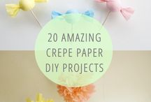Crepe Paper Projects / crepe paper flowers diy, how to make a crepe paper flower, crepe paper flower tutorial, crepe paper streamer ideas, crepe paper rose, crepe paper projects, crepe paper streamers ideas, crepe paper flowers tutorial, making crepe paper flowers / by AllFreePaperCrafts