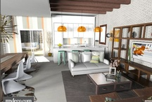 rooms / interior design, living rooms, bedrooms, kitchens, etc.
