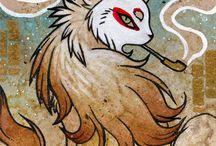 Tea Fox ilustracion