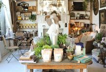 antique and vintage shops / by donna @ a perfect gray