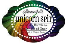 unicorn spit stains