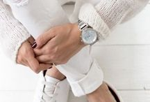 White Clothes / Loving white clothes, accessories and shoes during summer! More on http://fashionneed09.blogspot.it/2015/06/all-white-everything.html