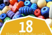 Korálkování/bead work / Inspirace pro práci s korálky/Inspiration for work with beads