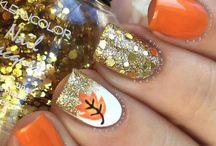 nail jesień