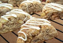 Paleo - Scones / I LOVE scones + jam. Paleo + primal scone recipes found here!