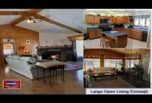 434 Callaghan Road Houlton Maine / Spacious, Wide Open Large Areas For Living, Entertaining, Relaxing. Cathedral Living Room With Fireplace, Vermont Slate And Oak Flooring, Big 60x30 Heated Shop For Work Or Hobbies! $192,500 info@mooersrealty.com