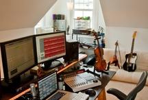 Home Office+Studio+Craft Room / by Megan McLain