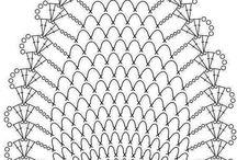 Bluza crosetata cu diagrama