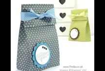 Gift wrap / Wrapping ideas and boxes