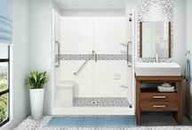 Easy Access/Low Threshold Shower Ideas