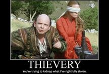 Buttercup and Wesley / The Princess Bride