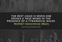 Hadith / Inspirational Sayings of Prophet Muhammad (PBUH)