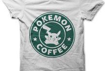Pokemon T-shirts / T-shirts with a pokemon theme.