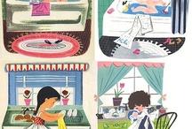 Children's illustration / by Cece Merkle