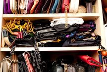 Organizing shoes, bags and clothes