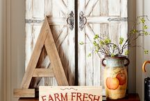 Fresh from the Farm / We bet the first people to build a farmhouse never realized they were starting a design trend that would endure for generations. And the look is still gaining momentum. Why? Maybe it's the tradition of heirloom pieces and signage that reflects the values of family and an honest day's work. Perhaps it's our natural attraction to wooden elements and a carefree country life. Or maybe it's because chickens are just cute. No matter what draws you to it, this is a look that will stick around.