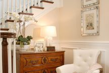 Entry Foyer / Beautiful pieces of furniture for the foyer.