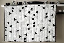Kwilts Swart & wit &1 kleur