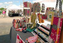 craft fair set-up / by Marcia Carkoski