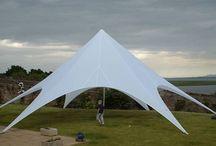 Stertenten / Een Stertent is een mooie tent voor een feest, bruiloft of evenement. Te huur en te koop bij EASY promotions in Elst
