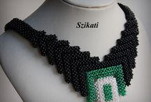 Beading - Right Angle Weave RAW - Peterne Szikati