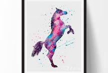 Horses&art
