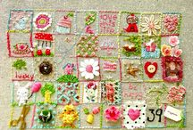 Embroidery and cross stitch