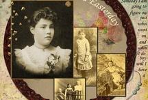 Vintage Scrapbooking / by Pamela Martin