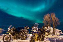 biker and ride