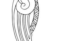 ворон орнамент