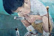 Art - Street / Fantastic street art.  / by Kat Lagerquist