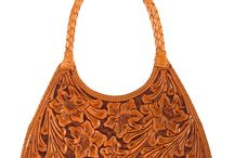 Hand tooled leather