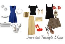 Spring inverted triangle