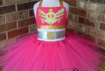 pink power ranger party