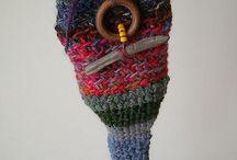 crochet pixie bags