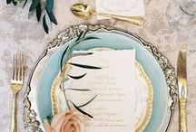 Tablescapes wedding/welcome party