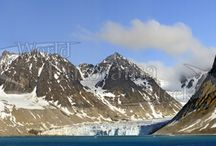 Glacier Panoramas - High Resolution Wall Murals