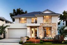 Stunning 2 Story Contemporary Australian Residence + Plans